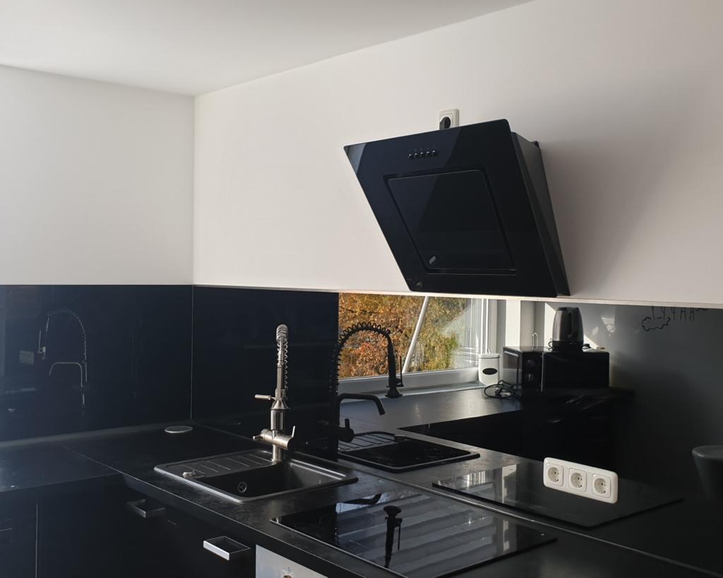 Glasrückwand Küche 2