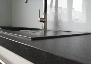 Küchenrückwand weiß